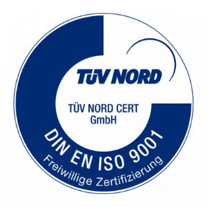 ISO 9001 Zertifizierung TÜV Nord