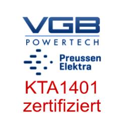 KTA1401 Zertifizierung conplatec