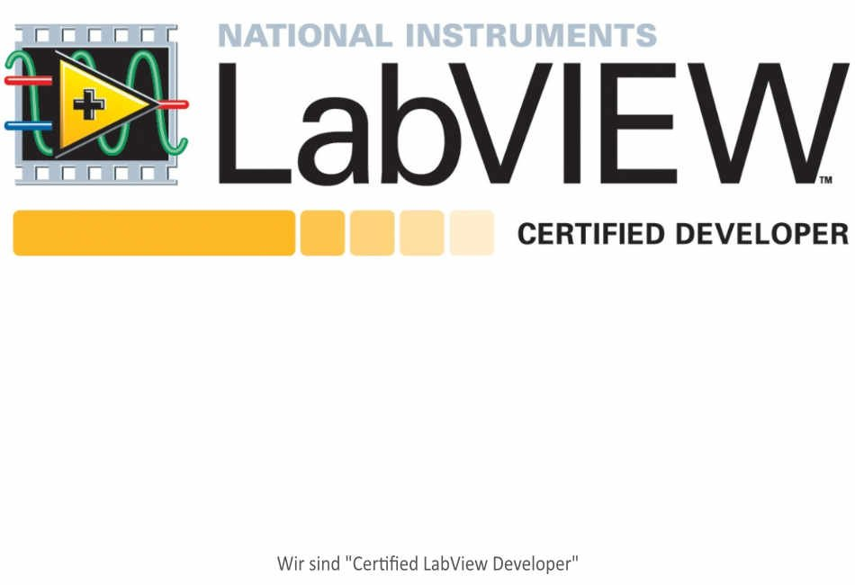 Labview Certified Developer Badge