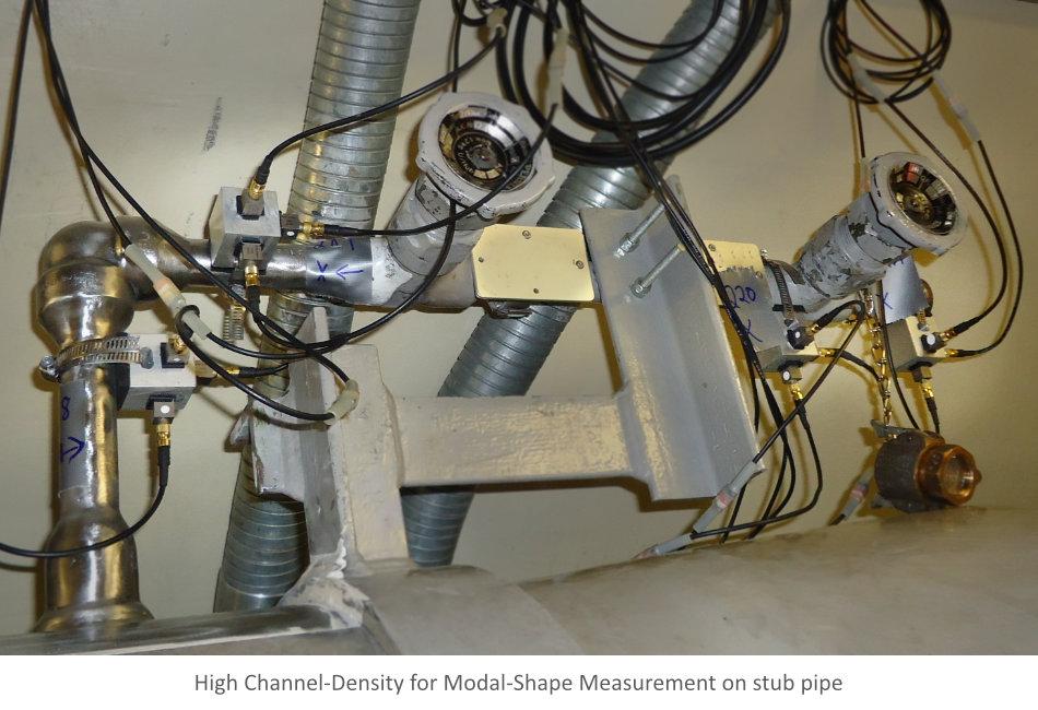 Multi-Channel Vibration Measurement of Pipe Stub